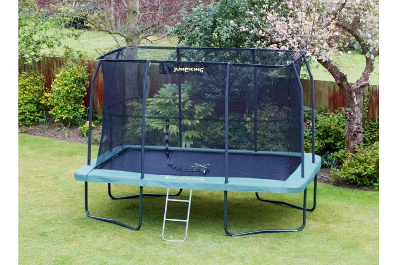 JumpKing 8ft x 12ft Rectangular Trampoline