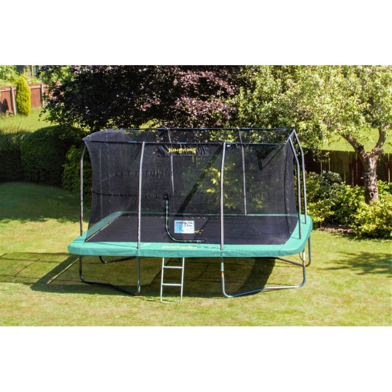JumpKing 12ft x 17ft Rectangular Trampoline