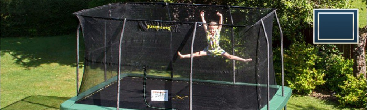 Rectangular shape Premium Trampolines for sale online