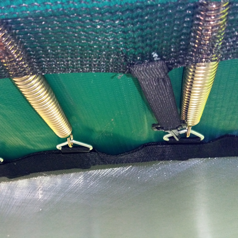 Netting ties on Jumpire Premium Trampoline 10 foot